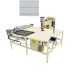 Buy cheap Hwashi X/Y Axis Feeder Automatic Wire Mesh Welding Machine,Hen Cage/Rabbit Cage/Bird Cage Batch Welding Machine product