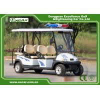 Buy cheap 4 Seater Electric Golf Cart For Security Cruise Car With Caution Light from wholesalers