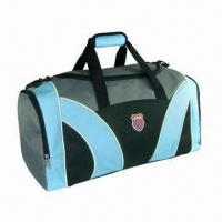 Buy cheap Travel Bag, Made of 600D Polyester, Customized Designs are Accepted, Measuring 60 x 35 x 25cm product