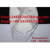 Buy cheap 99% Purity Paracetamol Pharmaceutical Powder Acetaminophen For Reduce Pain from wholesalers