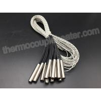 Buy cheap Diameter 10MM Cartridge Heaters With Internally Connected Fiberglass Leads product