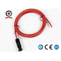 Buy cheap 6mm2 (10 AWG) Mc4 Extension Cable with Mc4 Connector TUV for Solar Panel product