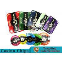 Buy cheap 760pcs Acrylic Premium Bronzing Casino Poker Chip Set For Entertainment product