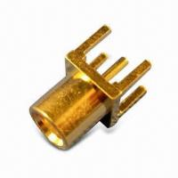 Buy cheap RF Connector, MCX Jack PCB Mount product