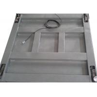 Buy cheap Single Deck Industrial Floor Weighing Scales 1.2 X 1.5m 3t Powder Coated With Ramps product