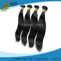 Buy cheap Silky Straight  Malaysian Virgin Hair Extensions Double Weft No Smell No Shedding product