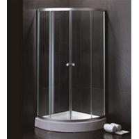 Buy cheap 800 X 800 Quadrant Shower Enclosures And Tray With Magnetic Stripes Ss Sliding Handle product