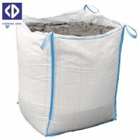 Buy cheap Anti Static Big Delivery Bags 500 Kg Big Bag Sack With Reinforcement White Color product