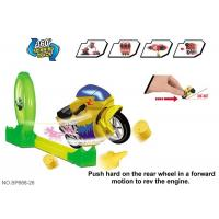 """Buy cheap 19 """" Inertia Motocycle Hot Wheels Race Track , Toddler Race Track Toys product"""