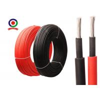 Buy cheap EN50618 Single Core Solar PV Cable 6.5mm H1Z2Z2-K PV1-F Weather Resistant product