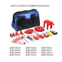 Buy cheap Portable Safety Lockout Kit For Locking Off Circuit Breakers / Valves / Switches product