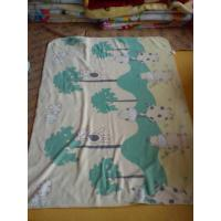 Buy cheap Customized Thermal Polyester Polar Fleece Blanket / Super Soft Baby Blanket product