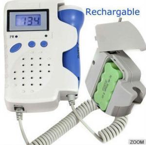 Buy cheap Ultrasound Digital fetal Doppler,Big LCD displaydynamic display FHR and battery energy product