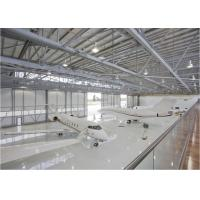 Quality Pre Engineering Steel Structure Hangar , Shockproof Large Span Steel Structures for sale