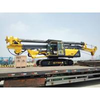 Quality 37m / 45m Drilling Depth Piling Rig Machine , Foundation Drill Rigs 34T Overall Weight for sale