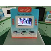 Buy cheap 7 Inch Calender / Clock UV Printed POS Advertising Display With Video Auto Play product