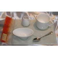Buy cheap porcelain  coffee cup /glass plate  spoon dish product