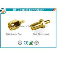Buy cheap Male Plug SMA Straight Crimp RF Coaxial Connector For RG174 TOP-SMA-1 product