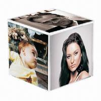 China Acrylic Cube, Measures 150 x 150 x 150mm on sale