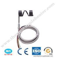 Buy cheap Hot runner electric heating element coiled heaters with thermocouple from wholesalers