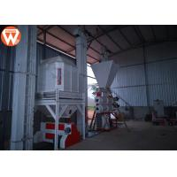 Quality 5T/H Poultry Animal Feed Pellet Production Plant Installation In Ecuador for sale