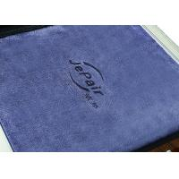 Buy cheap Strong Toughness Micro Cloths For Cleaning , Sole Cleaner Microfiber Dust Cloths product