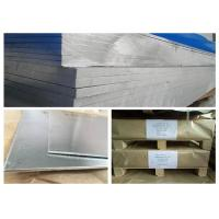 Buy cheap High Hardness 7075 Aluminum Stock , Hard Alloy 12 Gauge Aluminum Sheet Metal product