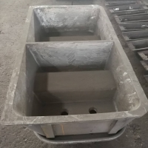 Buy cheap ATSM 4500 Lbs Metal Ingot Molds Cast Steel Aluminum Material product