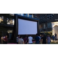 Buy cheap Outdoor Inflatable Movie Screen Removable Portable Air Projector Screen product