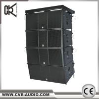 Buy cheap Active Dual 12 Inch Two-Way Line Array Sound System Outdoor Speaker product