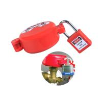 Buy cheap Anti Bending Pneumatic Lockout Red Color ODM Supported With Safety Warning Label product