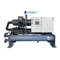 Buy cheap Factory Price Water Cooled Chiller , Screw Water Chiller , Industrial Chiller For Pool Cooling product