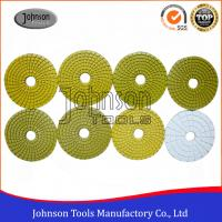 Buy cheap 100mm Diamond Wet Polishing Pad / Polishing Discs For Granite Marble Products product