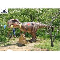 Buy cheap Outside Realistic Giant Dinosaur Statue For Jurassic Dinosaur World Decoration product
