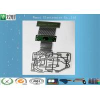 Buy cheap Customized PET Flex Circuit Cable 14 Pin Connector Three Layers Two Sides ESD Shield Layer product
