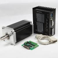 Buy cheap NEMA23 Stepping Motor, 1.8° step angle stepper motor, 2-Phase Stepper Motors product