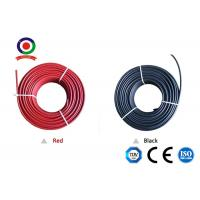 Quality Non Toxic Solar System Cable 4mm2 Deformation Resistant At High Temperature XLPE for sale