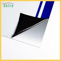 Buy cheap Mirror—Finish Stainless Steel Protective Film Low Tack Black&white Protection Film product