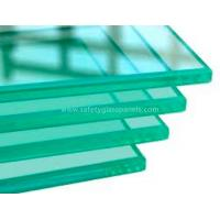 4mm 5mm 6mm Clear Safety Toughened Glass Golden for Household , Energy-saving
