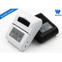 Buy cheap White Irda Portable Thermal Printer Bluetooth Android For Clinical Analyzer product