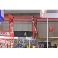 Buy cheap Custom Beach Feather Flags Banner Outdoor With Fiberglass Pole product