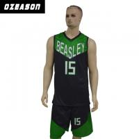 Buy cheap Quick Dry Sublimated Printing Basketball Jersey with Custom Logo & Numbers product