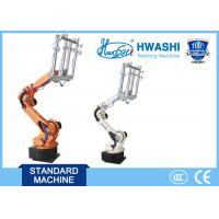 Buy cheap Hwashi Robotic Arm 6 Axis Pick Up Manipulator 10KG/50KG/165KG Industrial Robot from wholesalers