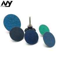 """Buy cheap 2"""" Roloc Sanding Discs , TS TR Conncted  Grinding Green Roloc Disc Zirconia Oxide product"""