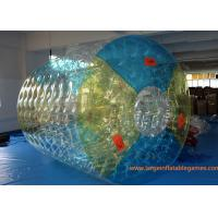 Buy cheap Customized TPU Amazing Inflatable Water Roller Amusement Park Ball from wholesalers
