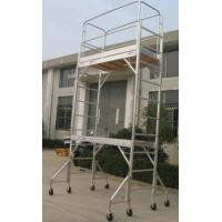 Buy cheap Double Formwork Outdoor Aluminium Mobile Scaffold For Cleaning Gutters product