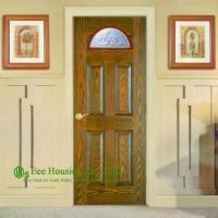 Buy cheap Solid Entry Doors For Apartment, Front Entry Door For Sale, Exterior Solid Wood Panel Doors With Glass Panels product
