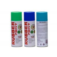 Buy cheap 400ML Green Rubber Coat Spray Paint , Exterior Blue.green ,red Plasti Dip Wheel Paint product
