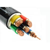 Buy cheap Cu - Conductor 5 Core Heat Resistant Cable , LSZH Power Cables Unarmoured product