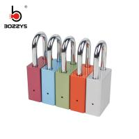 Buy cheap Durable Aluminum Padlock Red Color 38MM Shackle Length For Industrial Safety product